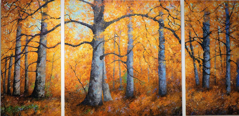 arbres remarquables peinture