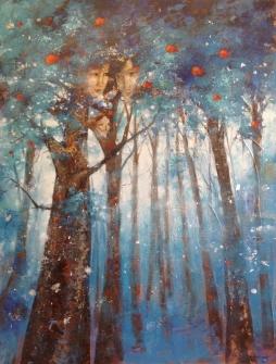 toiles arbres et famille
