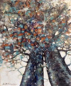 peinture -arbres-poétique