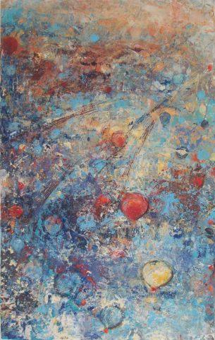 peinture mongolfières