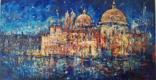 peinture - nuit- Venise