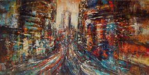 peinture- ville- mouvement- vitesse