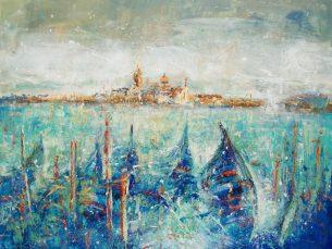peinture sur toile - Venise