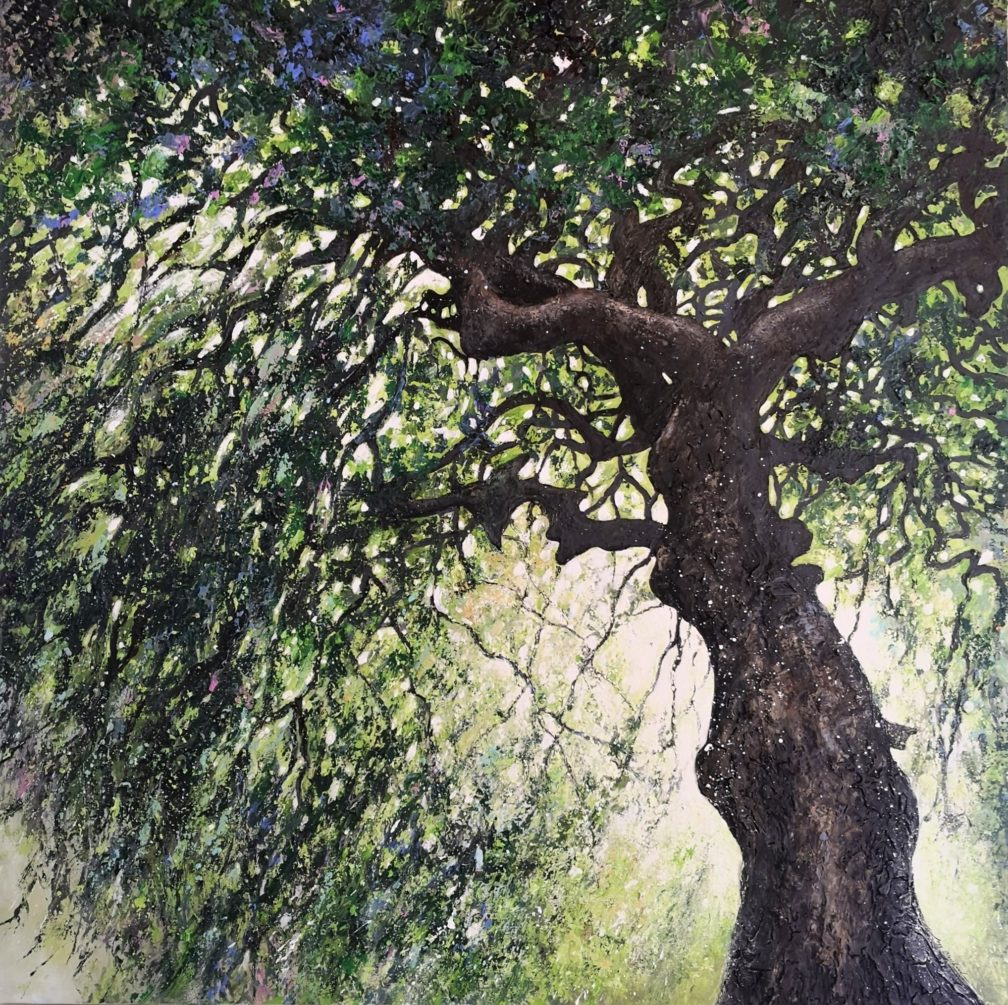 arbre remarquable peinture