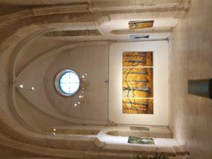 Expo chapelle des Minimes à Compiègne été 2020